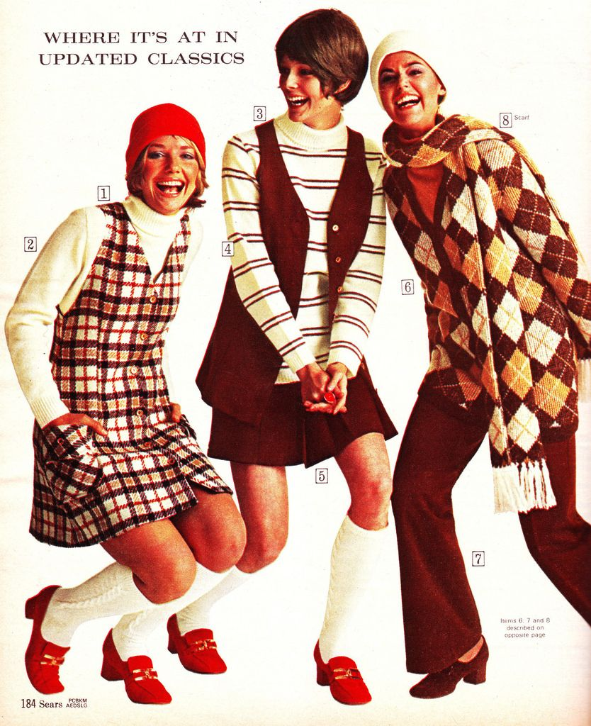 Sears 70 fw plaids browns