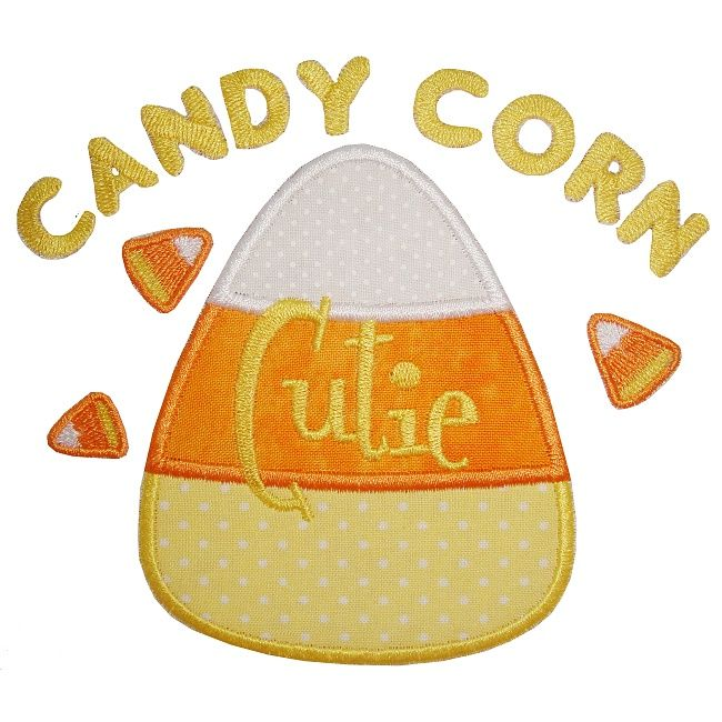 Candy Corn Cutie Applique   embroidery designs from Planet Applique ...