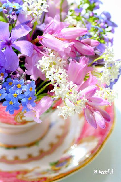 Les fleurs......   Aline ♥