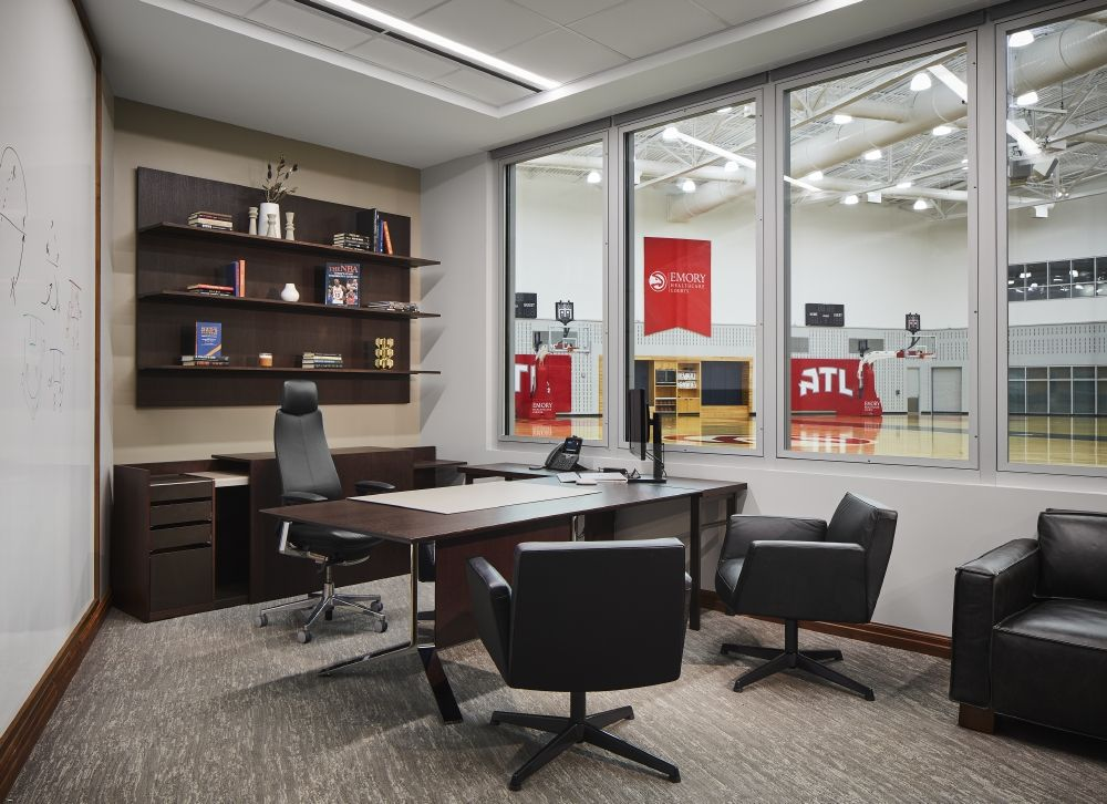 The General Manager Private Executive Office Features A Large