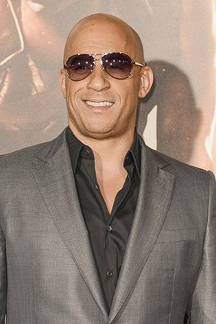 Vin Diesel wearing aviator sunglasses   Celeb Style 4ad6c8f2ccf3