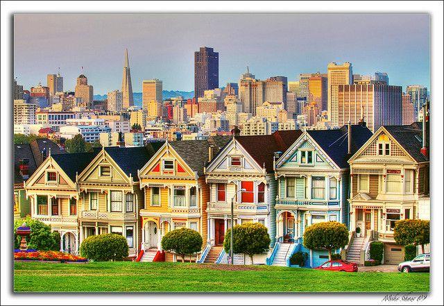 Painted Ladies San Francisco 09 Painted Ladies San Francisco Francisco San Francisco