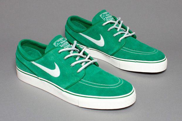 Nike SB Zoom Stefan Janoski Pine Green