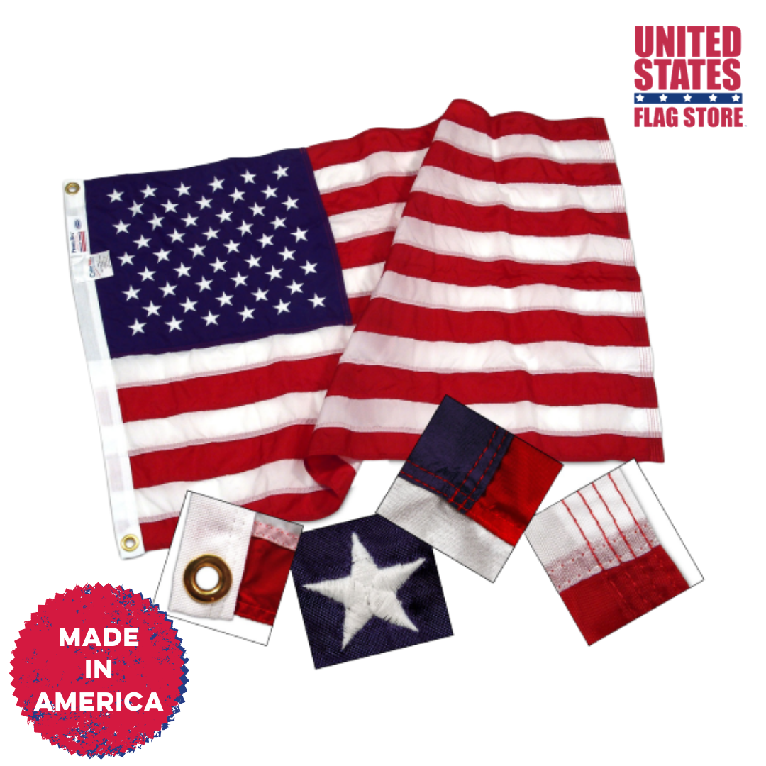 Want A Quality U S Flag That S Actually Been Made In America We Know You Do Shop This Link Today Http Ow Ly 1uqt50y In 2020 Flag Store Flag Flag Accessories