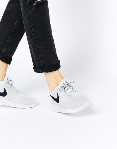 info for d4542 58f4b Nike Roshe Run Pure Platinum Trainers at asos.com sneakers offduty  covetme rosherun platinum grey white nike asos