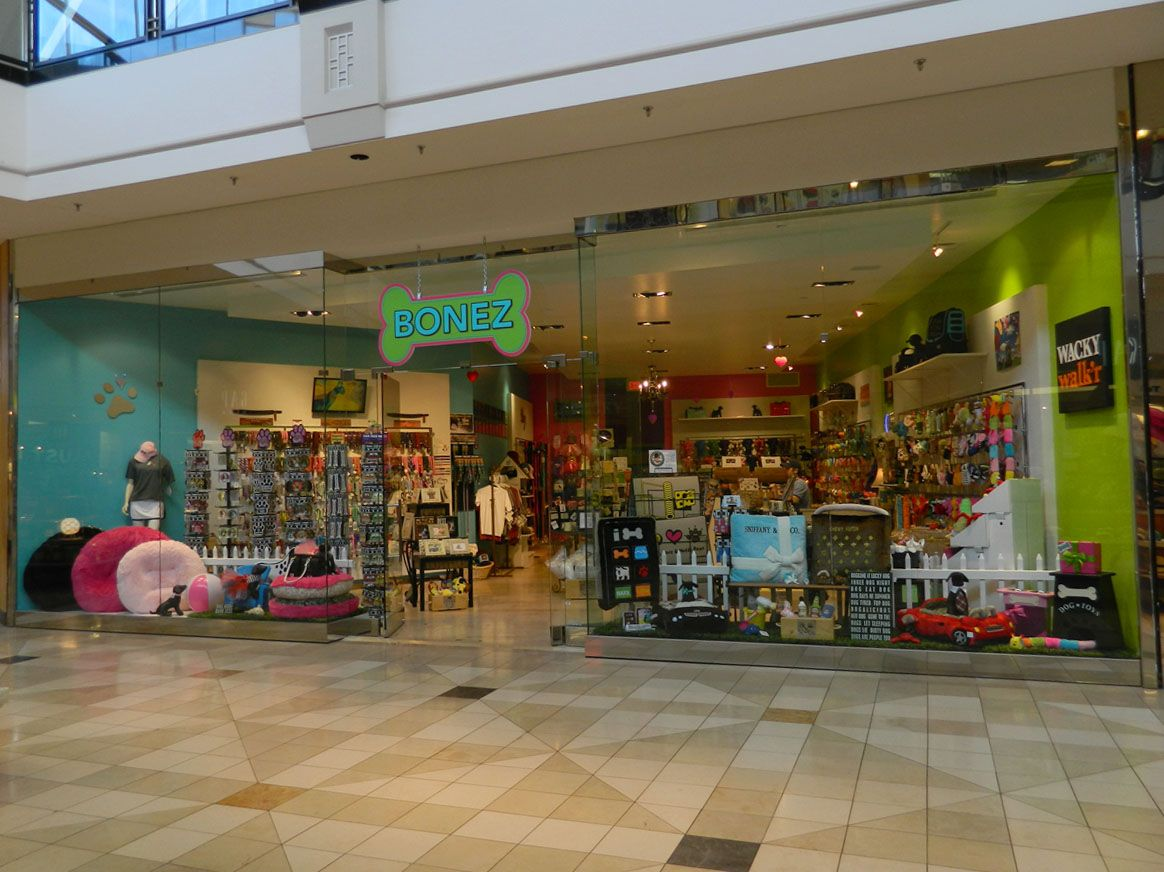 Bonez pet toys store at the King of Prussia Mall in King