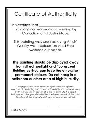 Looking for certificate of authenticity template wetcanvas 8 sample certificate of authenticity documents in pdf psd yadclub Image collections