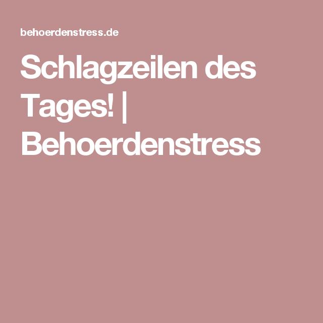 Alternative Presse Deutschland Schlagzeilen Des Tages