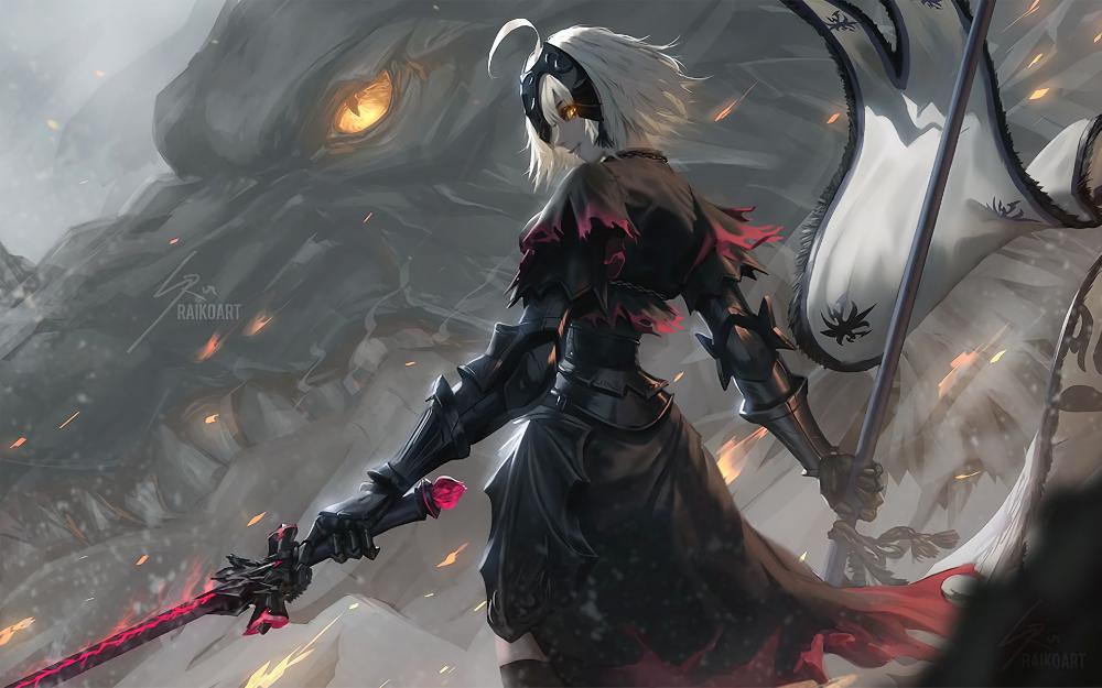 Jeanne d'Arc Alter Anime Fate/Grand Order Fate Series