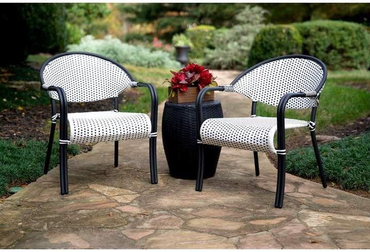 Everly Quinn Klaus 3 Piece Conversation Set Outdoor Furniture Sets Rattan Furniture Set Decor