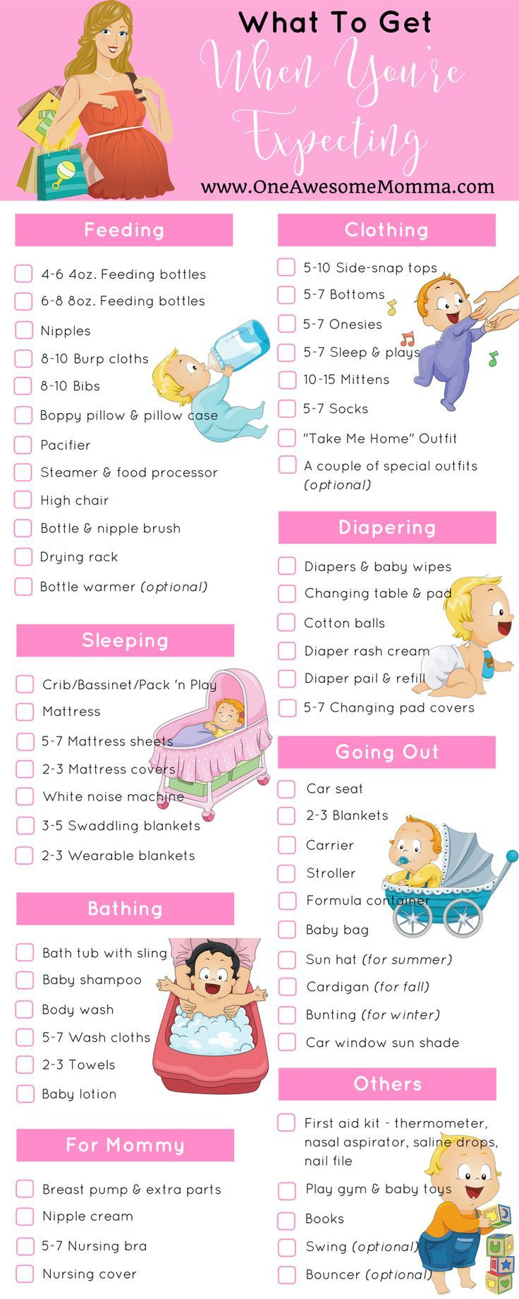 Ultimate Baby Registry Checklist Everything You Need Right Now Printable Baby Checklist New Baby Checklist Ultimate Baby Registry