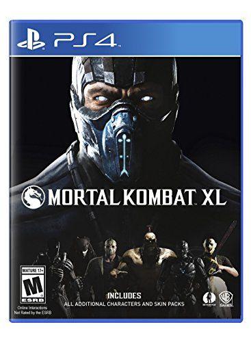 Mortal Kombat XL - PlayStation 4 Warner Home Video - Games