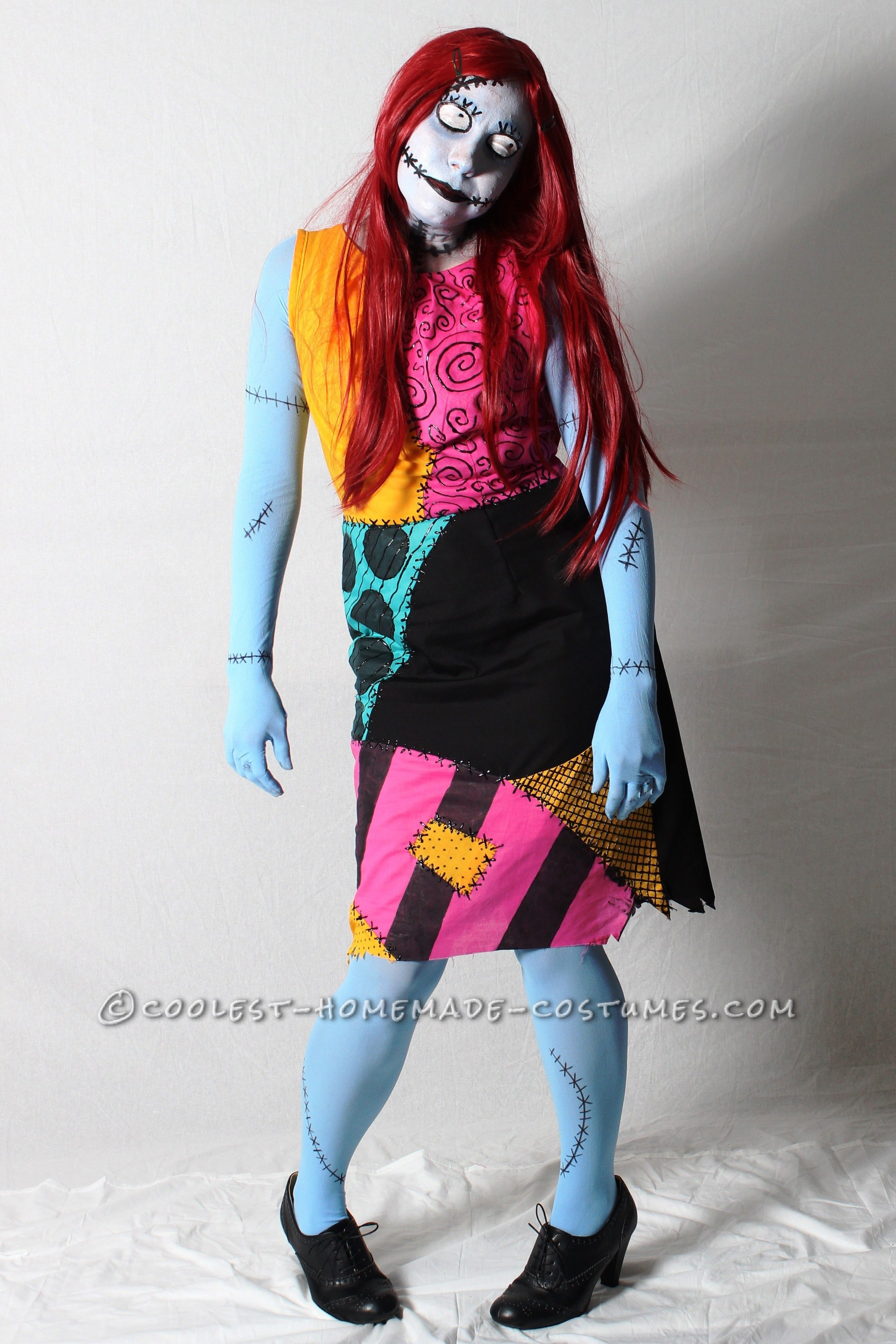 Coolest Tim Burton's Sally Costume | Sally costume, Cool ...