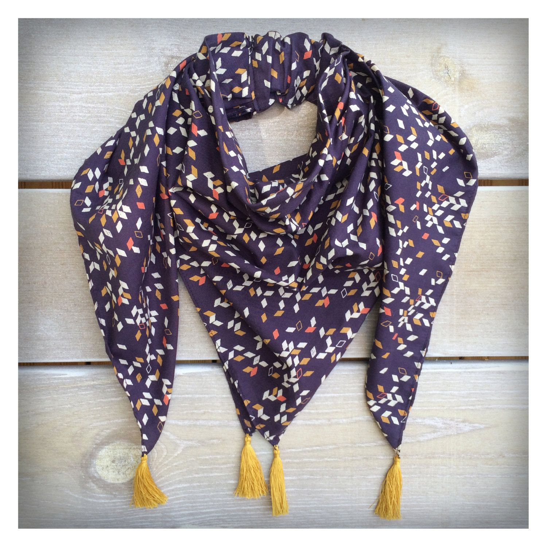 foulard enfant tour de cou marine de la boutique vacommelevent sur etsy ma petite boutique. Black Bedroom Furniture Sets. Home Design Ideas