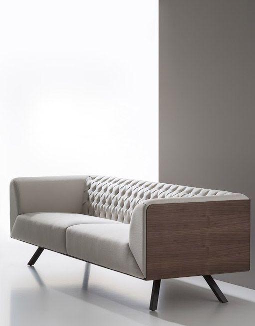 Los Sofas De Lujo Ikon De B Amp V Son Una Creacion De Alegre Design Ikon Es La Reinterpretac Contemporary Sofa Design Office Sofa Design Modern Sofa Designs