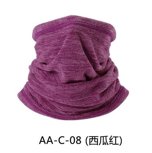 99a925f48 Multifunction Wool Fleece Thermal Neck Gaiter Warmer Tube Face Mask ...
