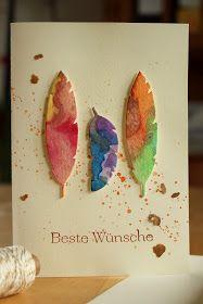 Tausend schöne Sachen...: Geburtstagskarte und selbstgemachte Creme caramel