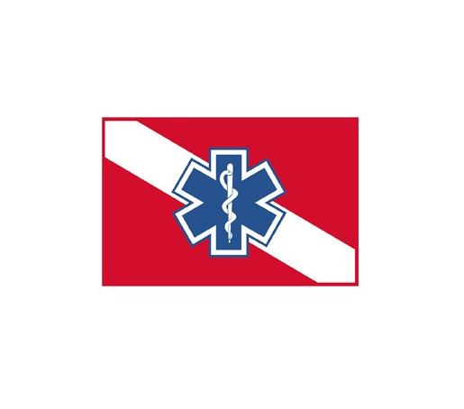 Exclusive Dive Flag With Star Of Life Decal Flags With Stars Dive Flag Decals