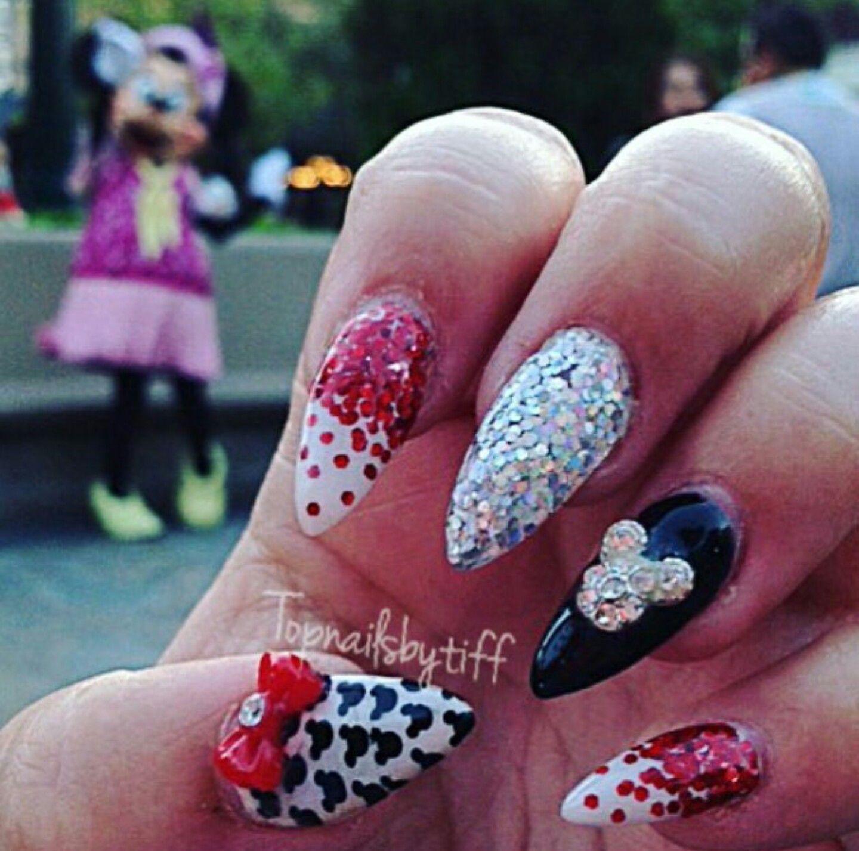Pin By Hannah Ellsmore On Nailzzz Pinterest Disney Nails