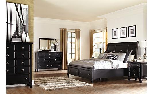 Greensburg Sleigh Bedroom Set Home Decorating Ideas Pinterest