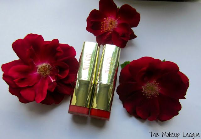Milani Color Statement Best Red &  Pretty Natural Lipsticks