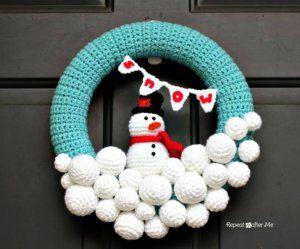 Photo of 15 Free Crochet Wreath Patterns – 99 Crochet