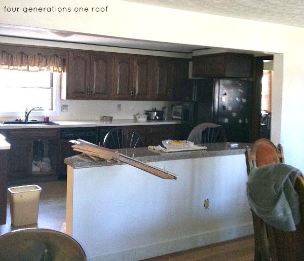Modernized Bungalow Kitchen Renovation: Our Modern Cottage Kitchen {makeover}