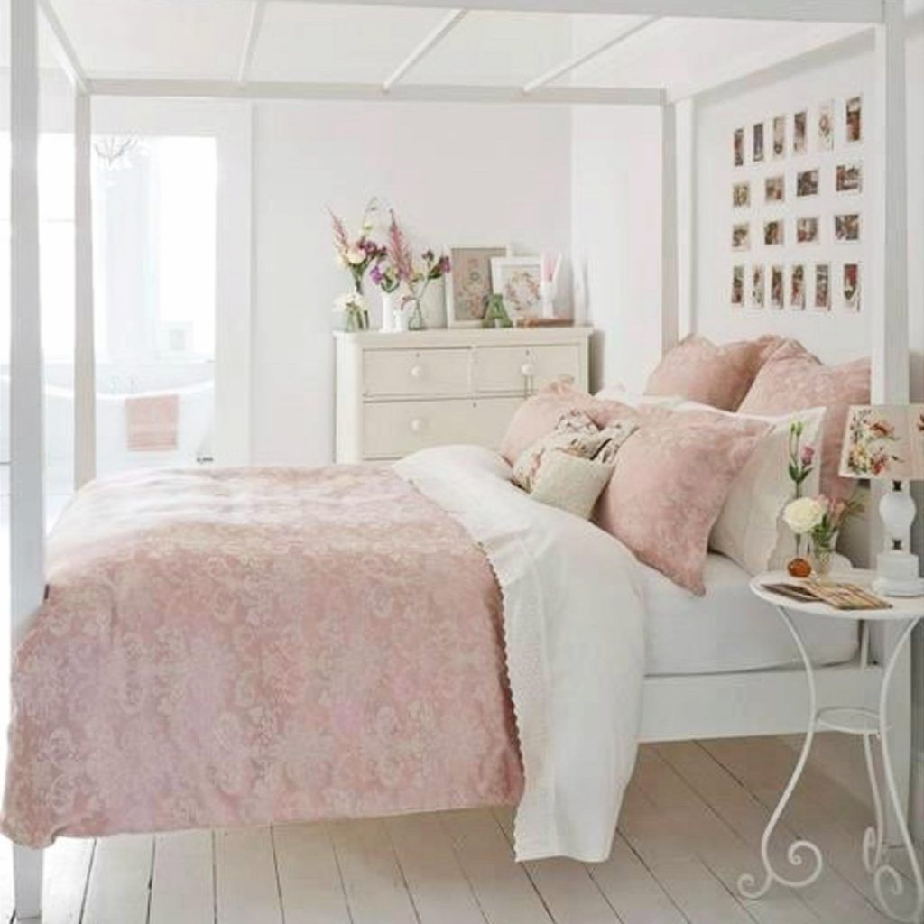 Blush Pink Bedroom Ideas Dusty Rose Bedroom Decor And Bedding I Love Clever Diy Ideas Shabby Chic Bedrooms Shabby Chic Decor Bedroom Shabby Chic Room