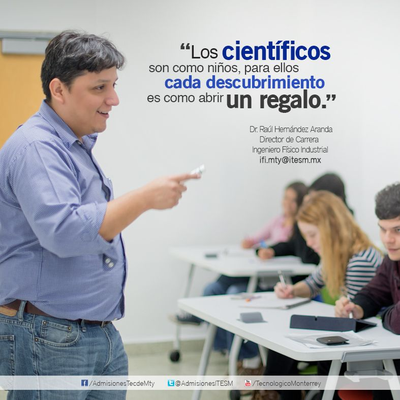 Dr Raúl Hernández Aranda Director de Carrera, Ingeniero Físico - biomedical engineering job description