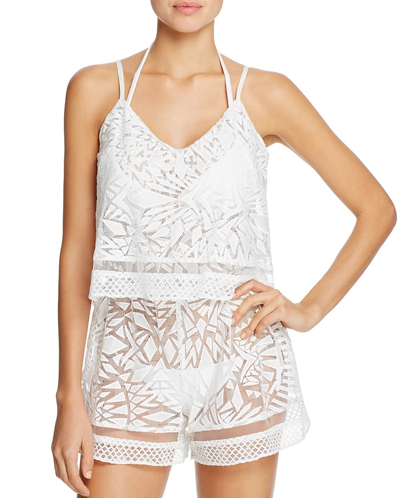 175.00$  Watch now - http://vimvn.justgood.pw/vig/item.php?t=ja530a17772 - Parker Beach Delta Combo Romper Swim Cover-Up 175.00$