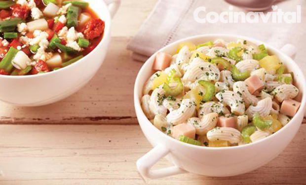 sopa fría de coditos recipe food coditos sopa de coditos