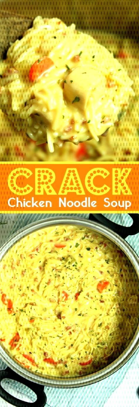 This easy homemade chicken noodle soup recipe is super creamy and delicious! The entire family love