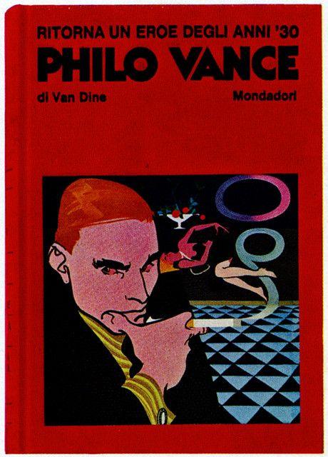 """""""Philo Vance""""   Arnoldo Mondadori Editore 1969"""