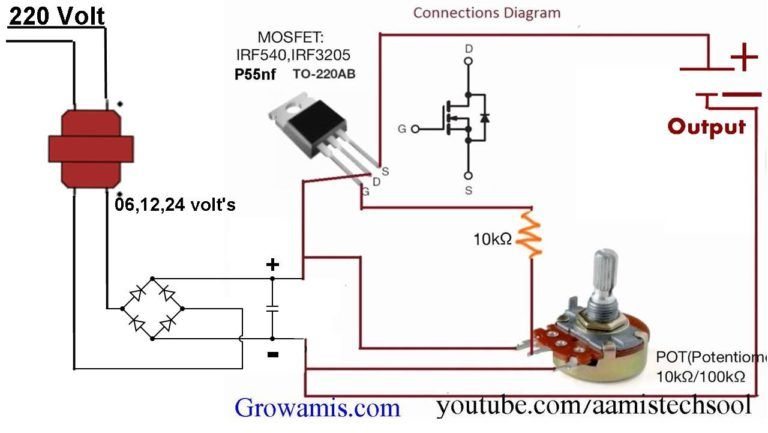 0 12v Variable Power Supply Circuit Diagram Circuit Diagram Voltage Regulator Power Supply Circuit