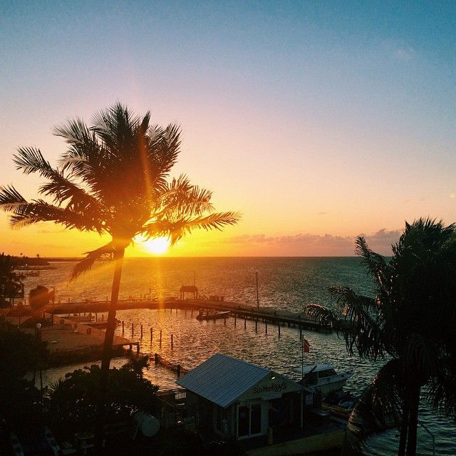 I'm not a morning person (there, said it!). So you will rarely find photos of daybreak here. But this is one of the few joys of jetlag. This week we're The Florida Keys and this is the view from the balcony of my suite at Amara Cay Resort in Islamorada. Find us on Instagram: https://instagram.com/livesharetravel/