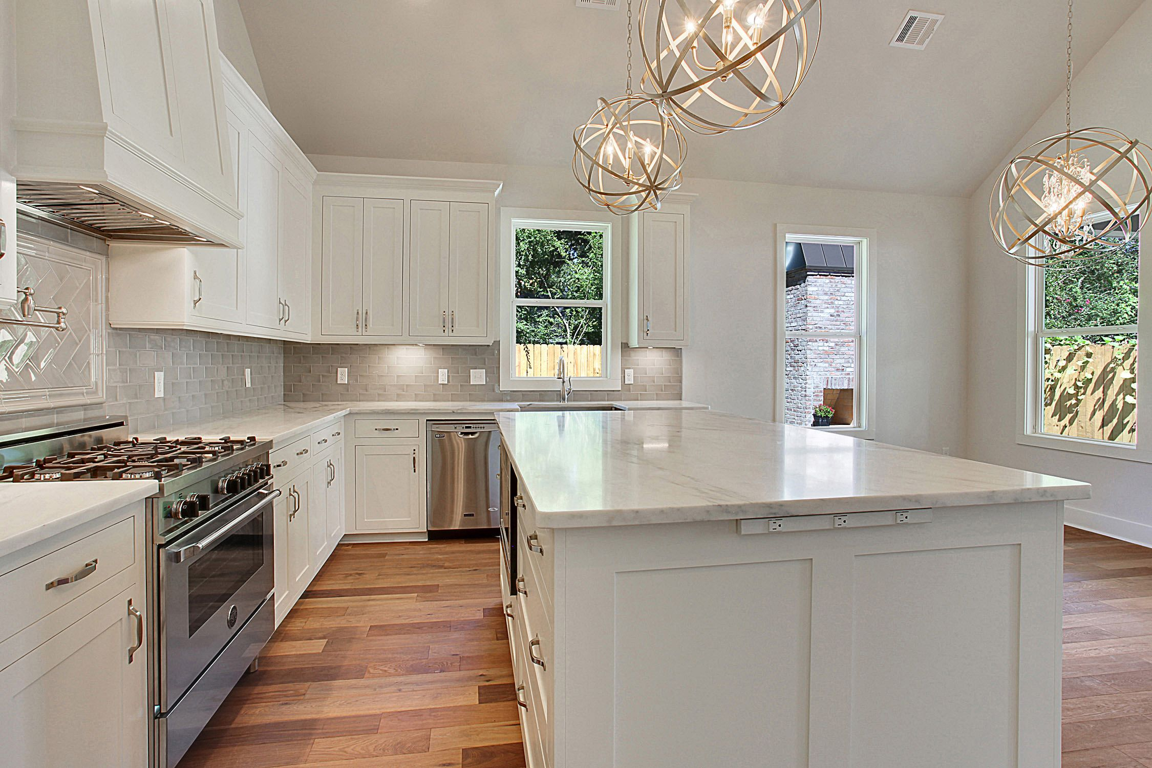 Baton Rouge Kitchen Designed By J Rivet Construction Located In