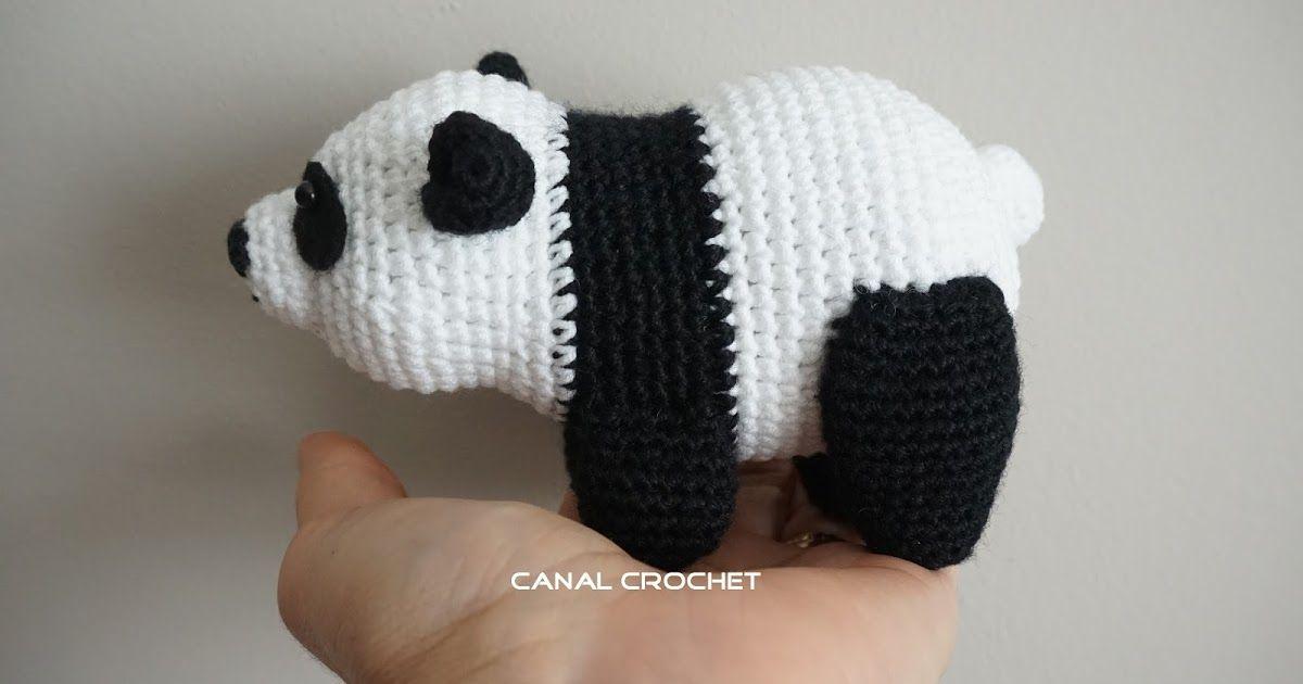 Amigurumi Panda Bear Crochet Pattern : Panda crochet patterns the cutest collection crochet panda