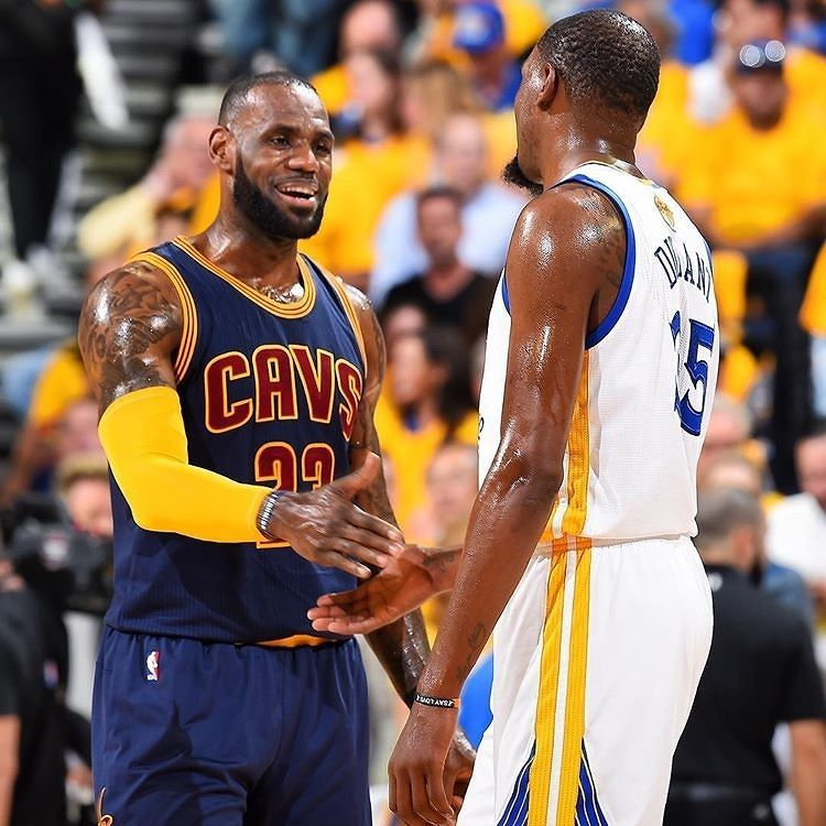 Image result for kd and lbj