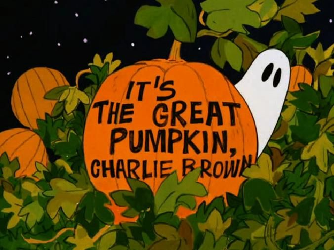 It's the Great Pumpkin, Charlie Brown | Charlie brown peanuts ...