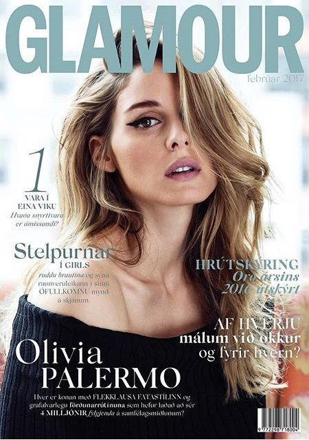 Olivia Palermo By Silja Magg For Glamour Iceland February 2017 Cover Magazine Cover Ideas Fashion Magazine Cover Glamour Magazine Cover