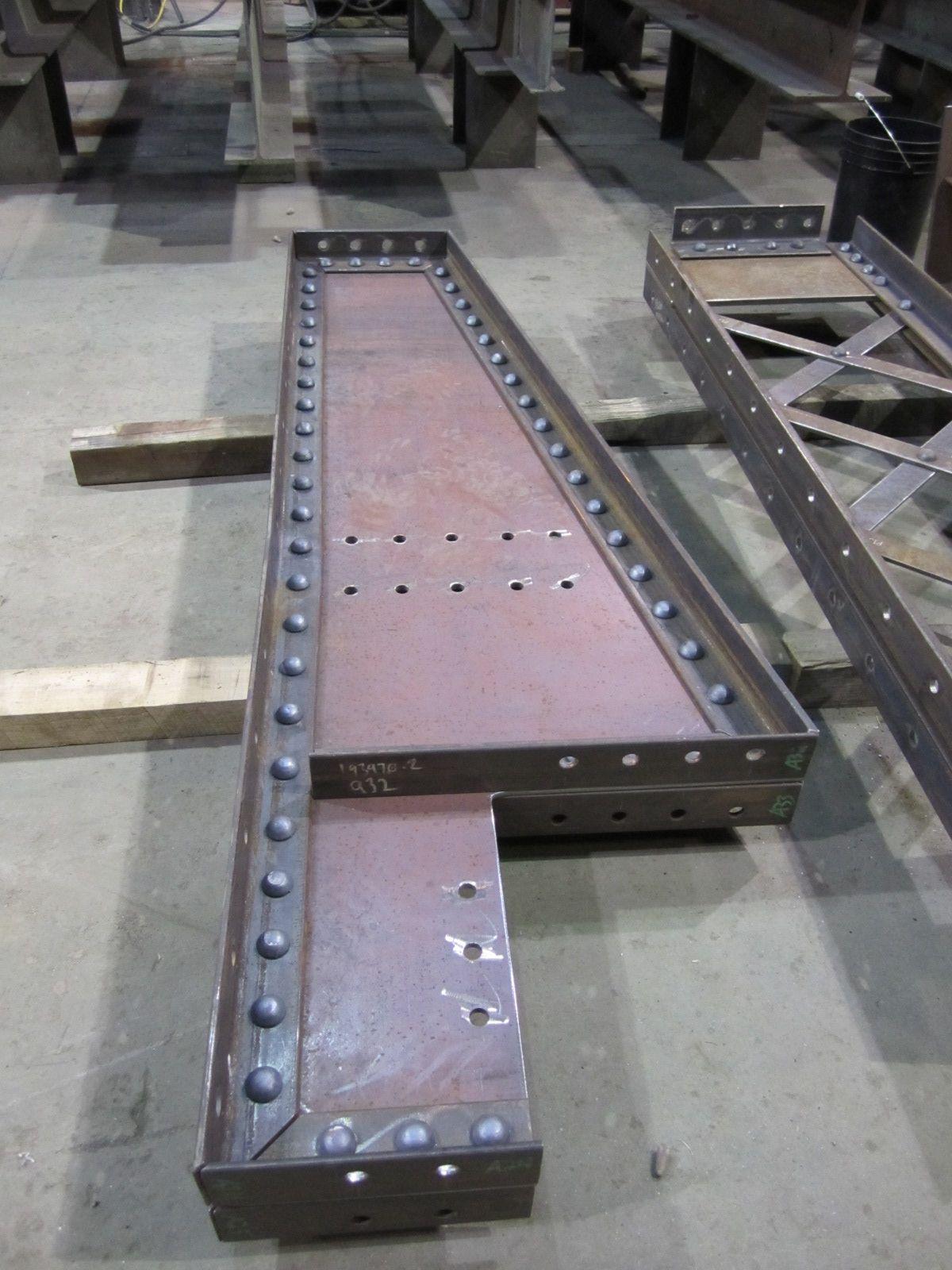 Longfellow Bridge Beam Industrial Inspiration Steel Building Homes Metal Furniture