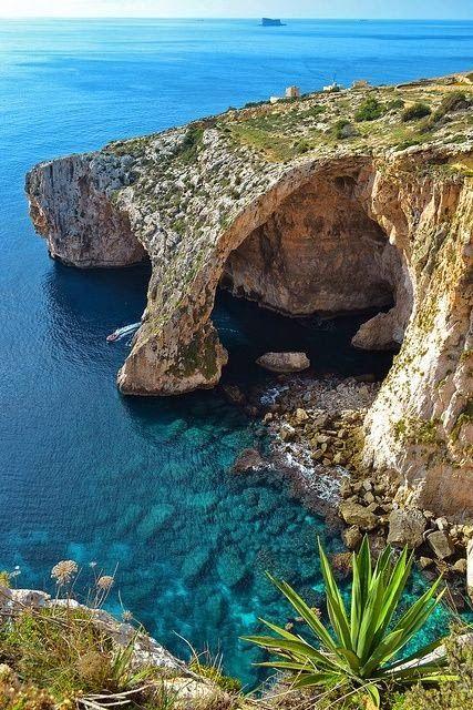 Blue Grotto,Malta