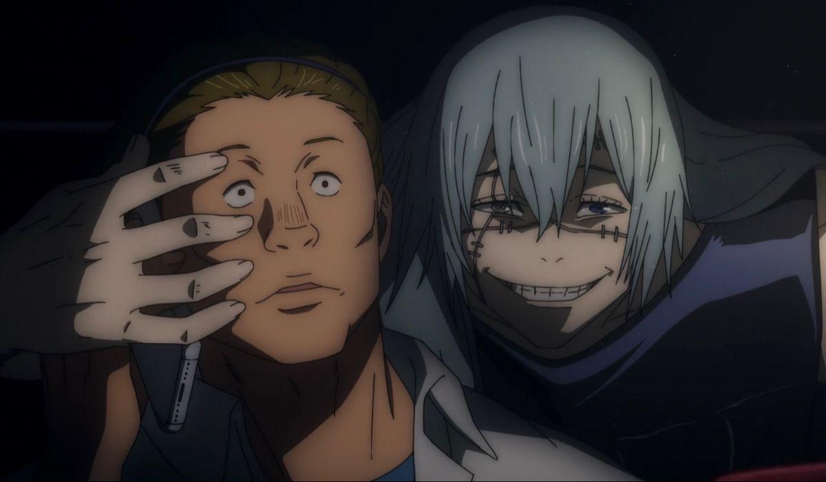 Mahito Jujutsu Anime Fictional Characters