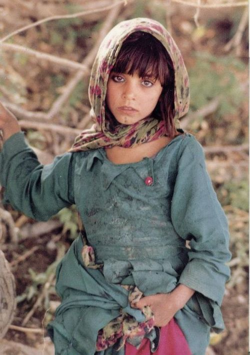 Pushtun Afghan Girl With Images Afghan Girl Beautiful Children