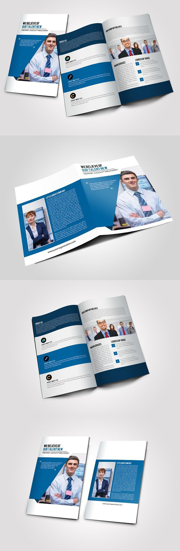 4 pages business bi fold brochure creative business card templates 4 pages business bi fold brochure creative business card templates wajeb Gallery