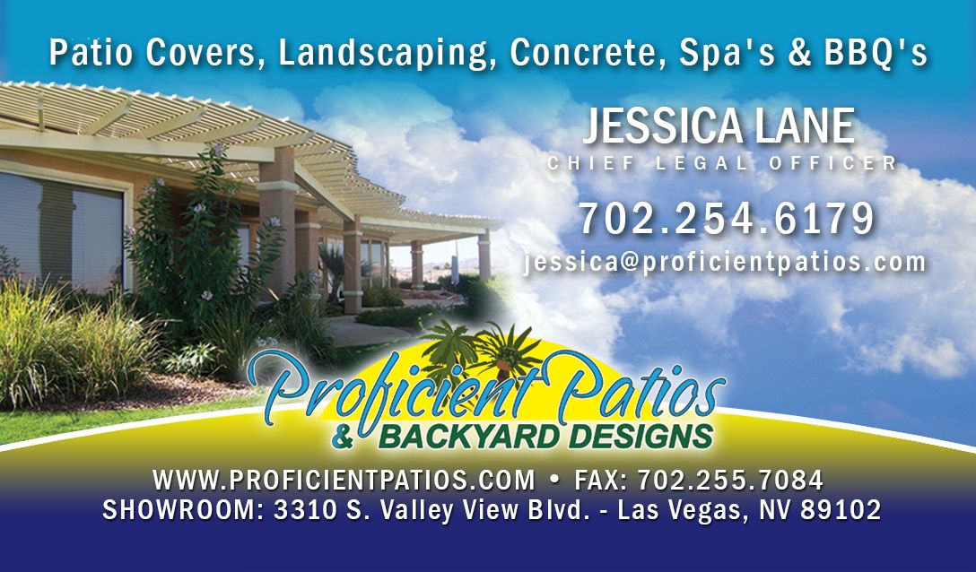 Created For Proficient Patios