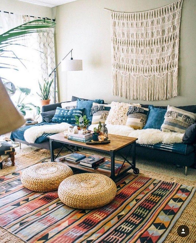 Cold Ideas To Make Minimalist Hippie Interior Decorations Bohemian Living Room Decor Modern Farmhouse Living Room Decor Boho Chic Living Room