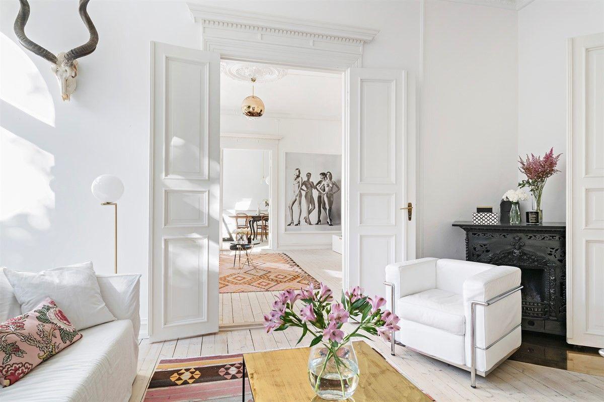 5) Boligdrøm på Frogner, klassisk leilighet med 3 stuer, 3 soverom ...