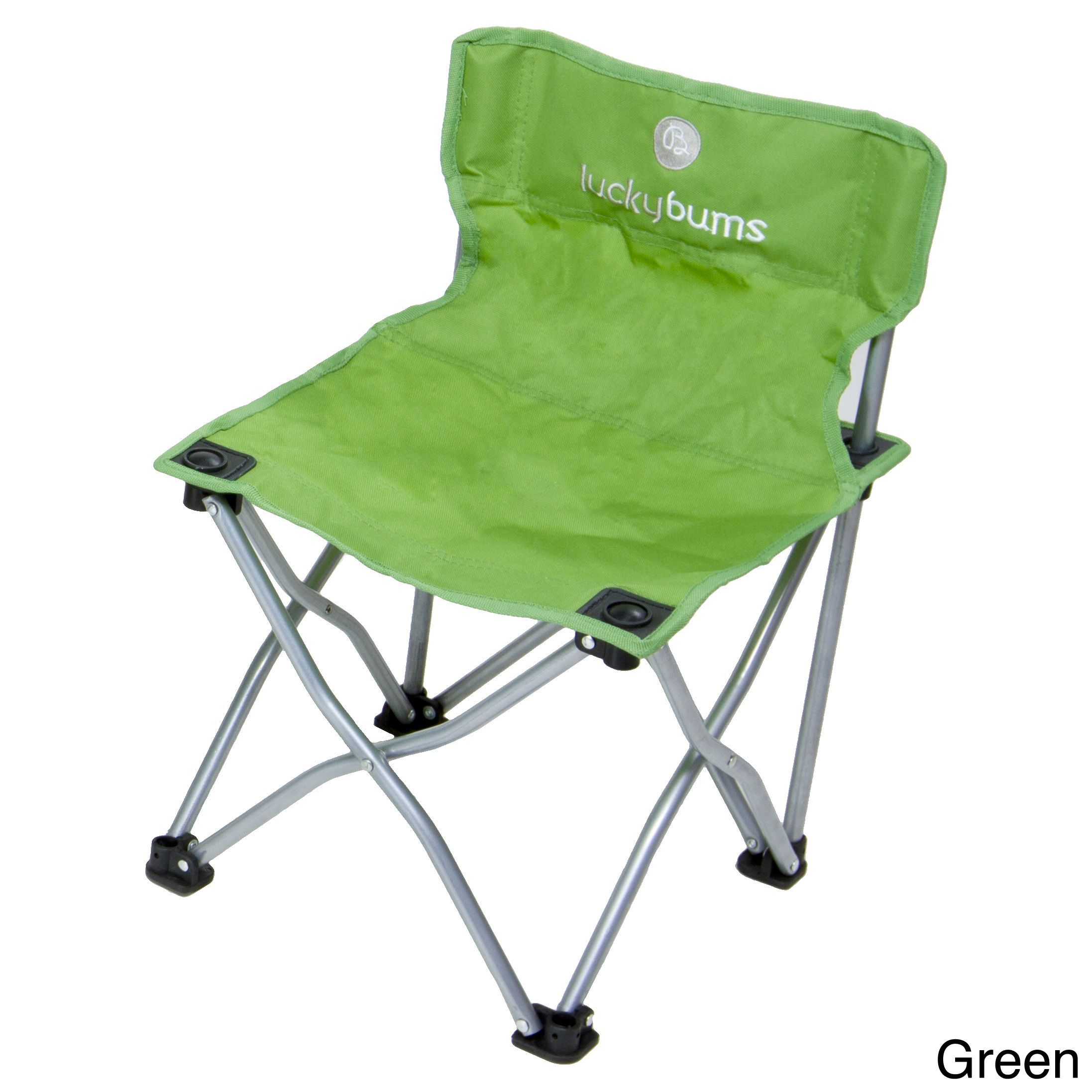 Lucky Bums Camp Chair Red Side Youth Products Camping Chairs