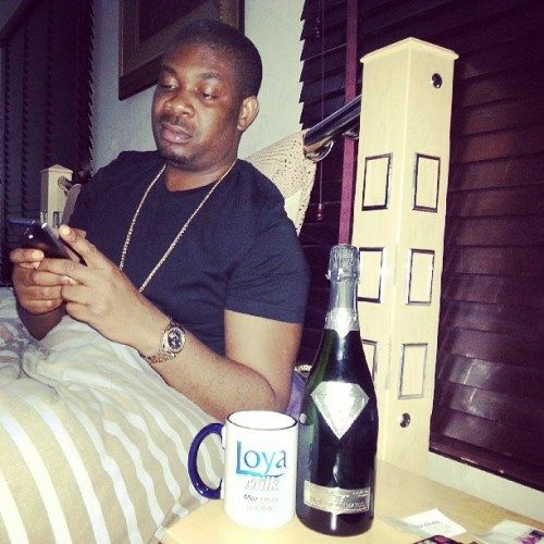 Don Jazzy Gets The 1 2million Champagne From Alexander Amosu Expensive Champagne Luxury Design Website Design